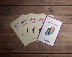 Neshla Avey The Learner Tarot Cards fanned out
