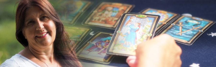 Neshla Avey intuitive psychic tarot readings Header