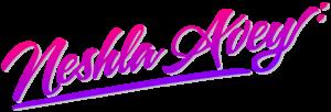 Neshla Avey psychic healer tarot reader logo signature