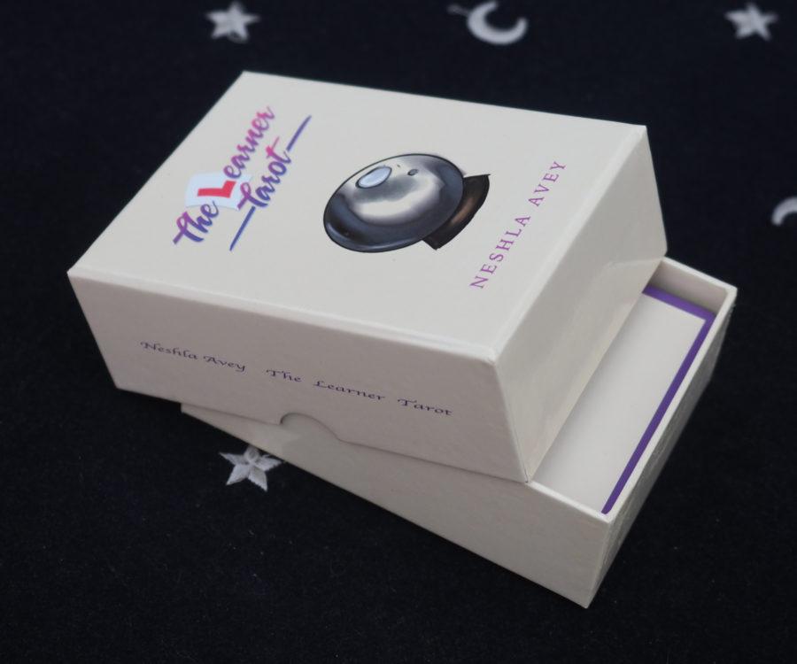 Neshla Avey the learner tarot cards in box