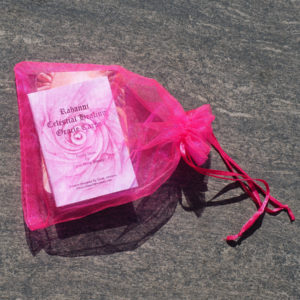 Rahanni Celestial Healing Oracle Cards in bag