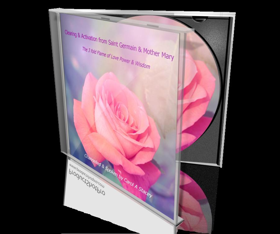 The 3 fold Flame of Love Power & Wisdom CD