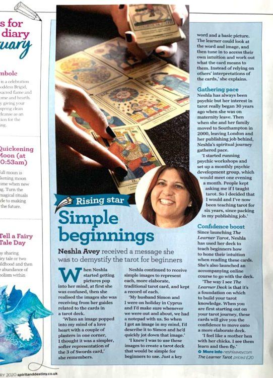 Neshla Magazine Article Jan 2020