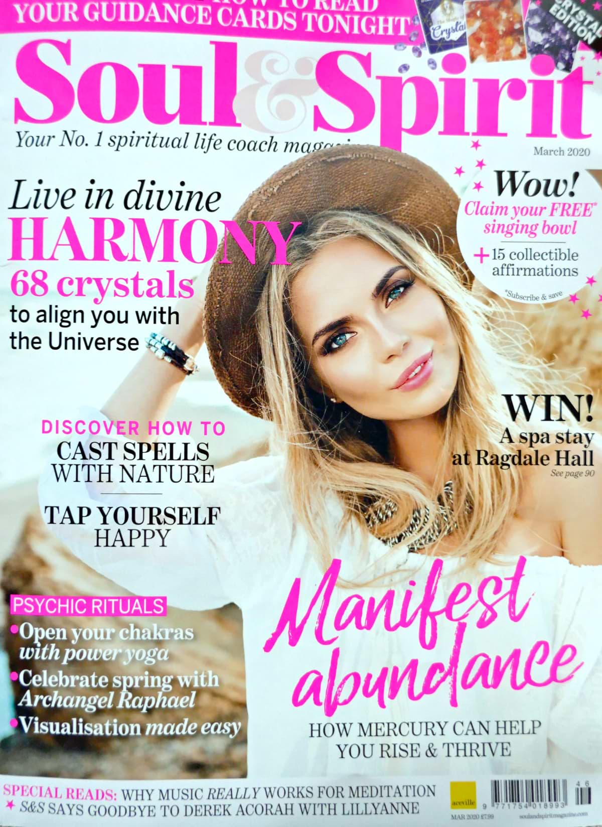 Soul & Spirit Magazine March 2020 Neshla Avey Cover