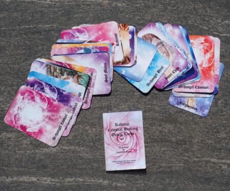 Rahanni Celestial Healing Oracle Cards Spread